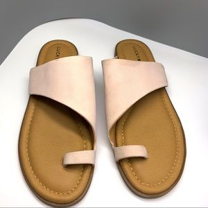 Lucky Brand Dusty Pink Sandals women's Sz 8.5
